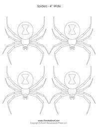 halloween spider templates u0026 decorations spider clip art