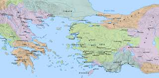 Blank Map Of Ancient Greece Map Of Greece You Can See A Map Of Many Places On The List On