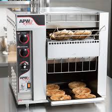 Extreme Toaster Apw Wyott Bt 15 2 Bagelmaster Conveyor Toaster With 2