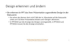 powerpoint design zuweisen designtester und erklärer ppt herunterladen