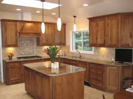 Island In Kitchen Pictures by Custom L Shaped Kitchen Designs With Island Ideas Desk Design