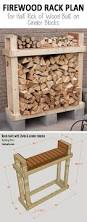 Diy Firewood Rack Plans by Free Firewood Rack Plan Easy To Build For Under 30 Holds 3 4
