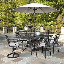Patio Furniture 7 Piece Dining Set - panama jack island breeze 7 piece slatted patio dining set