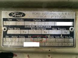 ford focus colour code help need colour code name mk2 passionford ford