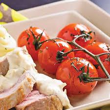 cuisine au four tomates sur grappes au four recettes cuisine et nutrition