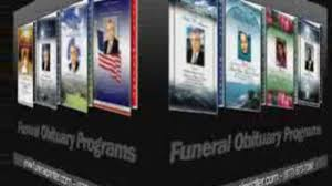 Programs For Memorial Services Samples Funeral Home Software For Memorial Funeral Services Video