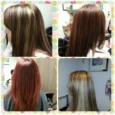 blonde hair with mocha lowlights the color red copper blonde highlights copper lowlights mocha