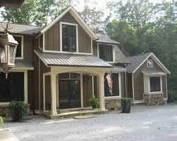 exterior paint dark brown natural colors exterior design in