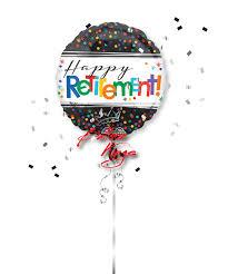 retirement balloon bouquet happy retirement balloon
