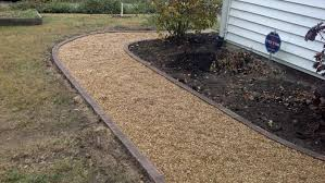 life time pavers pea gravel patio u0026 walkways with brick border
