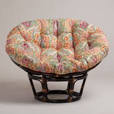 Colorful Furniture by Decorating Charming Papasan Chair With Pretty Papasan Chair