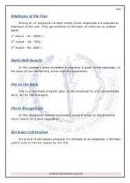 employee of the month nomination letter sample resume example