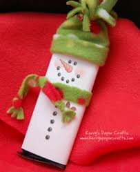10 adorable snowman crafts bar wrappers candy bar wrappers and