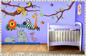 jungle wall decals home decorations ideas image of jungle wall decals kids room