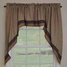 country swag curtains shades of brown swags 72
