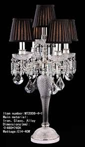 Chandelier Table L Chandelier Table Ls And L Engageri With Gray Shade
