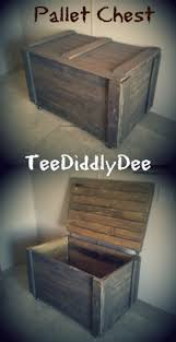 Build Your Own Wooden Toy Box by Make An Easy Rustic Pallet Storage Chest Simple To Follow