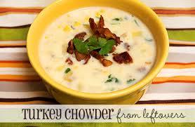 best leftover turkey recipe turkey chowder even uses leftover