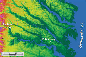 Virginia Mountains Map by Coastal Plain The Geology Of Virginia