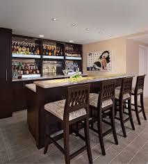 Finished Basement Bar Ideas Simple Bar Ideas For Basement From Bar Designs For Basement