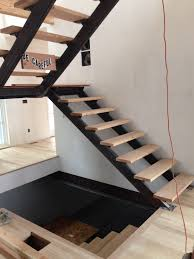 image result for half landing metal staircase stairs pinterest