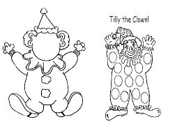 tilly the clown coloring book 1