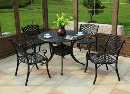 white round outdoor patio table luxury round mosaic dining set patio furniture baka 233