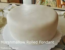 marshmallow rolled fondant recipe thebakingpan com