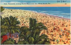 Seeking Miami Daily Thousands Seeking Health Rays Of The Sun Miami