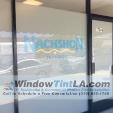 commercial window film for storefront business in los angeles