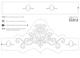tiara coloring girls printable coloing