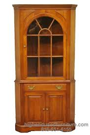 wonderful cherry corner china cabinet 70 on home decorating ideas
