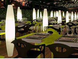 commercial interior design of club tennis rctb in barcellona spain