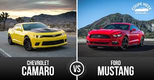 mustang or camaro best pony car ford mustang vs chevrolet camaro