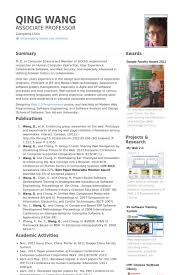 awesome collection of sample resume of assistant professor also