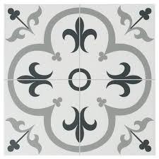 floor and decor logo florentina gray ceramic tile 16in x 16in 100439199 floor