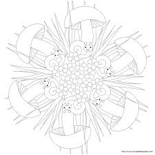 don u0027t eat the paste snail mandala and coloring page