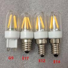 best g9 filament led light g9 e17 e12 e14 filament light dimmable