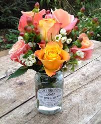 wedding flowers jam jars using jam jars in wedding flowers bristol wedding flowers the