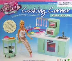 Little Tikes My Size Barbie Dollhouse by Kitchen Barbie Size Set Dollhouse Cooking Corner Kitchen