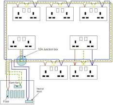 ring main wiring diagram ring wiring diagrams instruction