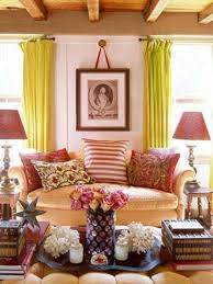 Orange Curtains For Living Room 15 Lively And Colorful Curtain Ideas For The Living Room Rilane