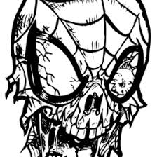 zombie coloring pages adults archives mente beta