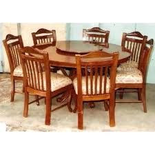 dining table 60 inches long round dining table for 6 nippomac info