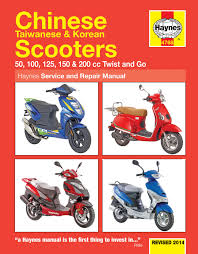 chinese taiwanese u0026 korean scooters 50cc 125cc u0026 150cc 04 14