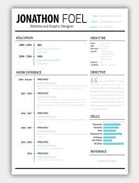 Free Designer Resume Templates Creative Resume Like The Layout Objective Or About Me Section