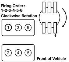 mitsubishi firing order diagrams with picture of how to do it