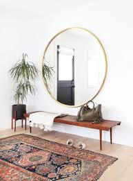 How To Decorate With Mirrors 10 Ways To Decorate With Round Mirrors