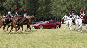 ferrari horse ferrari takes the prancing horse motto literally to celebrate