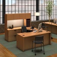 U Shaped Home Office Desk U Shaped Desk Ideas 3 Sided Office Desk Glass Wrap Around Desk